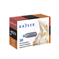 "Баллоны ""Kayser"" для сифона для сливок(1уп/10 шт ) ,1ящ/30уп"