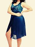 Жіноча сорочка з мереживом, колір різний, фото 3
