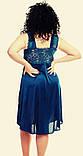 Жіноча сорочка з мереживом, колір різний, фото 4