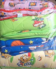 Детское одеяло 105*135 + подушка 50*50 ARDA Company, фото 3
