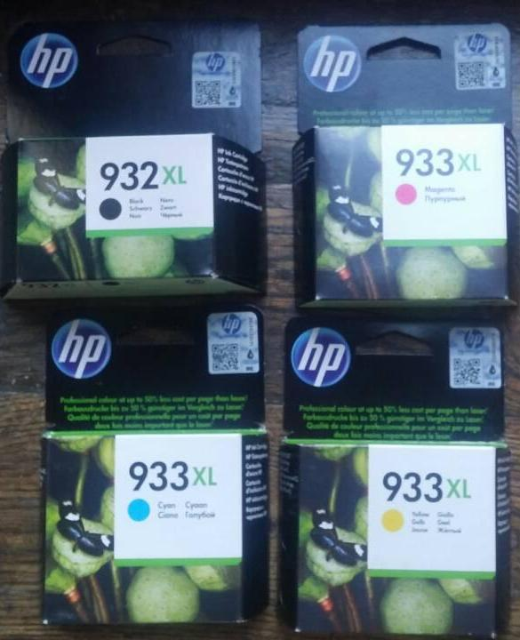 Картридж HP No.933 XL OJ 6700 Premium Yellow CN056AE оригинал