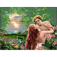 """Схема для вышивки бисером """"Адам и Ева"""""""