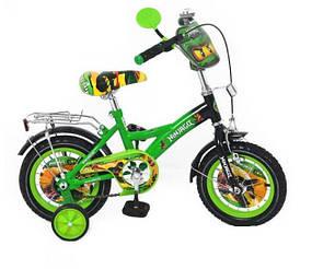 """Детский двухколесный велосипед Profi 12"""" мульт, фото 2"""