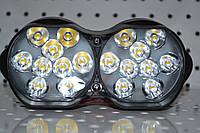 Дополнительная светодиодная фара 9-85V 30W 18 диодов   , фото 1