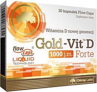 Витамины Olimp Sport Nutrition Gold-Vit D Forte, 30 caps