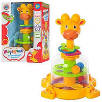 Дитяча іграшка Дзига SL83058 Жираф