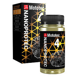 "Присадка для 4 хтактных мотоциклів nanoprotec "" (нанопротек) Mototec 4"