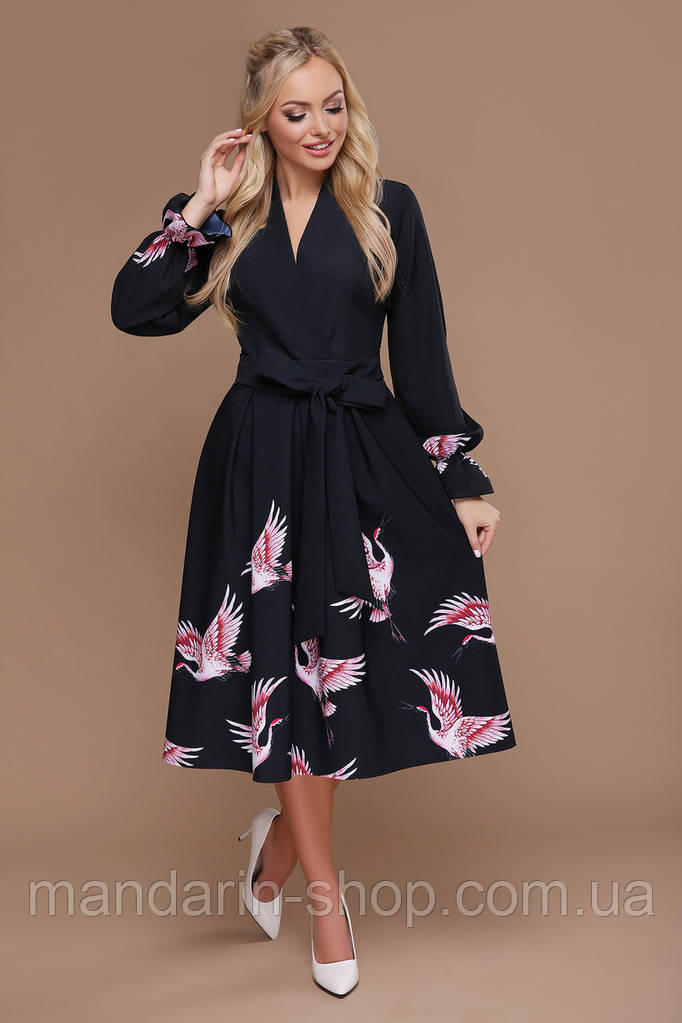 GLEM Аисты платье Ангелина д/р