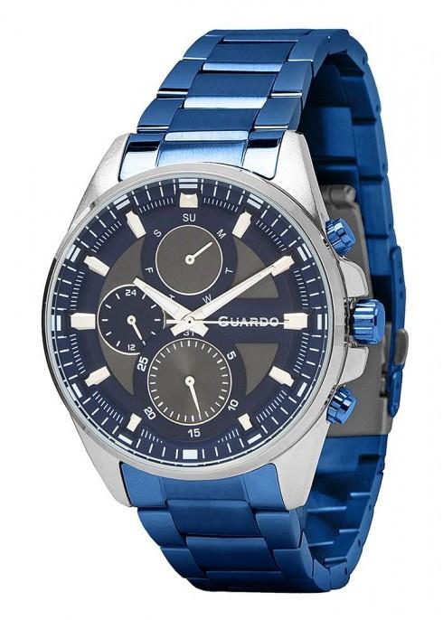 Мужские наручные часы Guardo P11999(m2) SBlBl