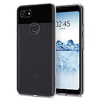 Чехол Spigen для Google Pixel 3 Liquid Crystal, Clear (F19CS25032)