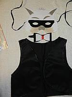 Костюм карнавальный Кот  122-134 см, фото 1