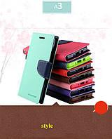 """Samsung A3 A300H GALAXY Оригинальный противоударный чехол книжка кошелек для телефона """"GOOSPERY"""""""