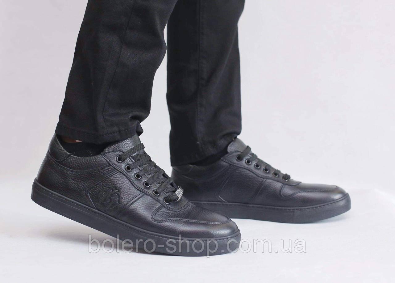 Кроссовки черные Roberto Cavalli
