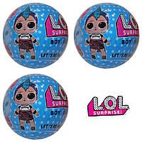 Кукла сюрприз L.O.L мальчики панки SURPRISE BOYS куколка мальчик в шаре   L.O.L Surprise  Boys Punk аналог