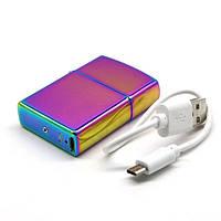 Электроимпульсная USB зажигалка Хамелион, фото 1