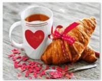 Картина по номерам Brushme  Завтрак с любовью