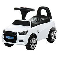 Дитяча каталка-толокар автомобіль Audi M 3147A(MP3)-1, білий