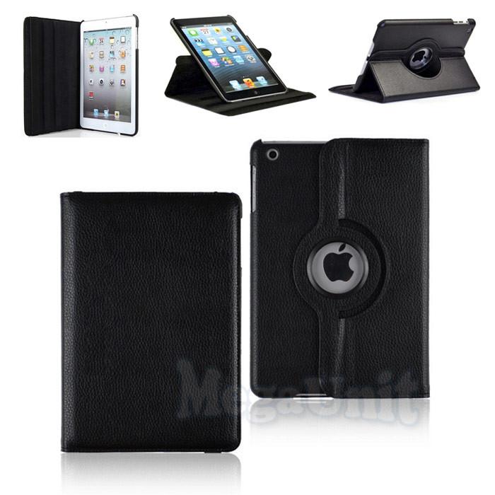 Чехол для Apple iPad mini 1/2/3 с поворотом на 360° Черный, фото 1