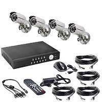 Комплекты проводного видеонаблюдения