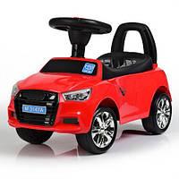 Дитяча каталка-толокар автомобіль Audi M 3147A(MP3)-3, червоний