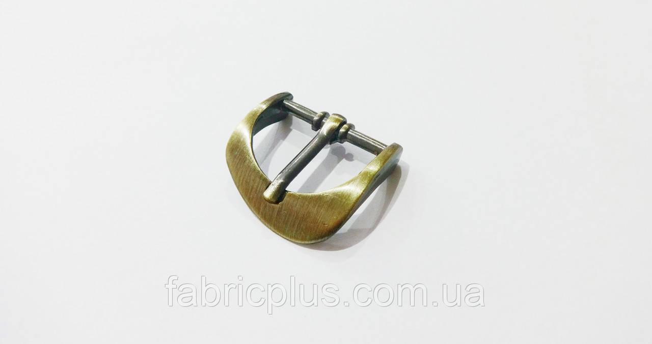 Пряжка застежка 24 мм металл, антик