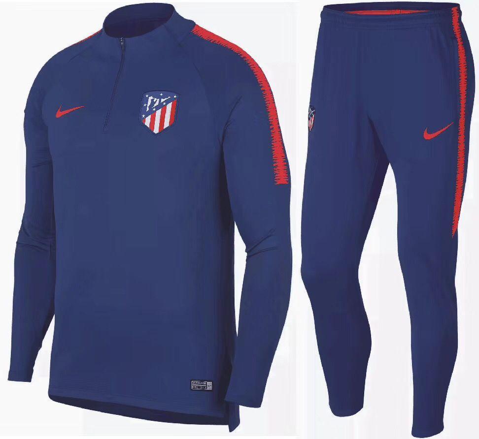 95c1be076d42 Тренировочный костюм Атлетико Мадрид 2018-2019 (VTK0005), Nike, Взрослая,  Мужская