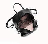 Модный женский городской рюкзак + брелок в Подарок! Бесплатная доставка 01035, фото 3