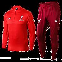 Тренировочный костюм Ливерпуль 2018-2019 (VTK0017), Взрослая, Мужская, Красный, Ливерпуль, L