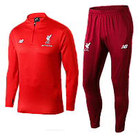 Тренировочный костюм Ливерпуль 2018-2019 (VTK0017), Взрослая, Мужская, Красный, Ливерпуль, XL