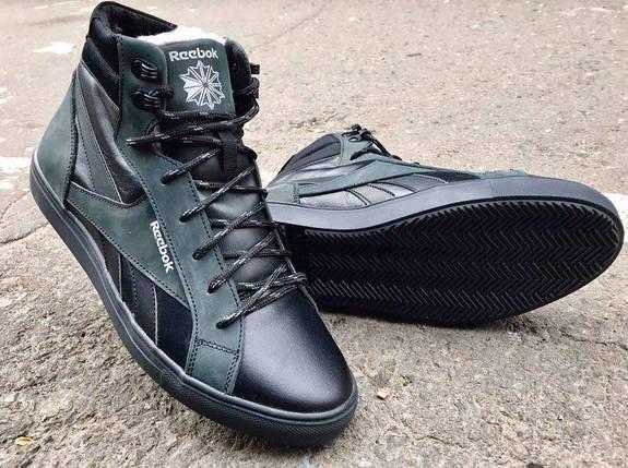 Мужские зимние ботинки Reebok натуральная кожа, фото 2