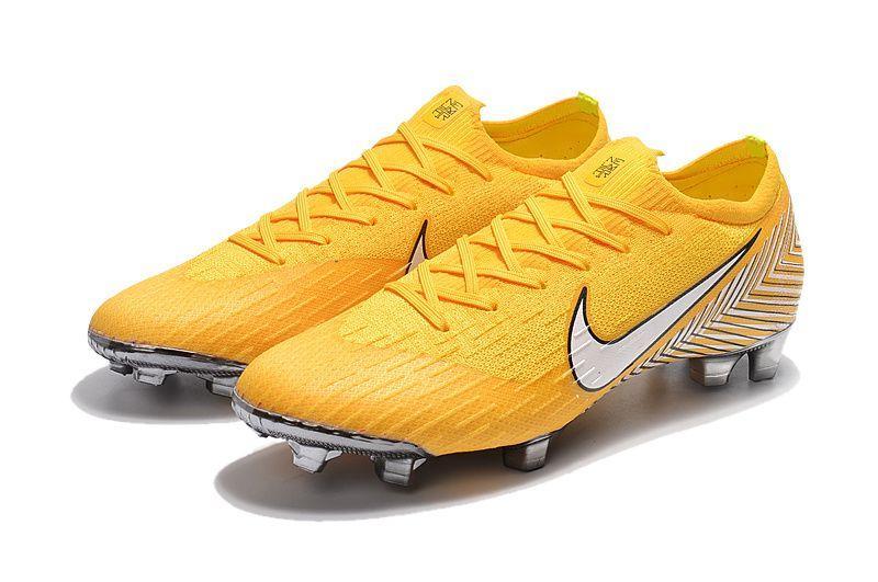 Бутсы Mercurial Vapor XII Elite Neymar FG - Yellow 2b0082b3228f9