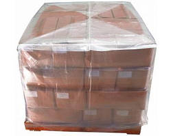 Термоусадочные пакеты для индустриальных паллет 1200*1200, мешки толщиной 100 мкм