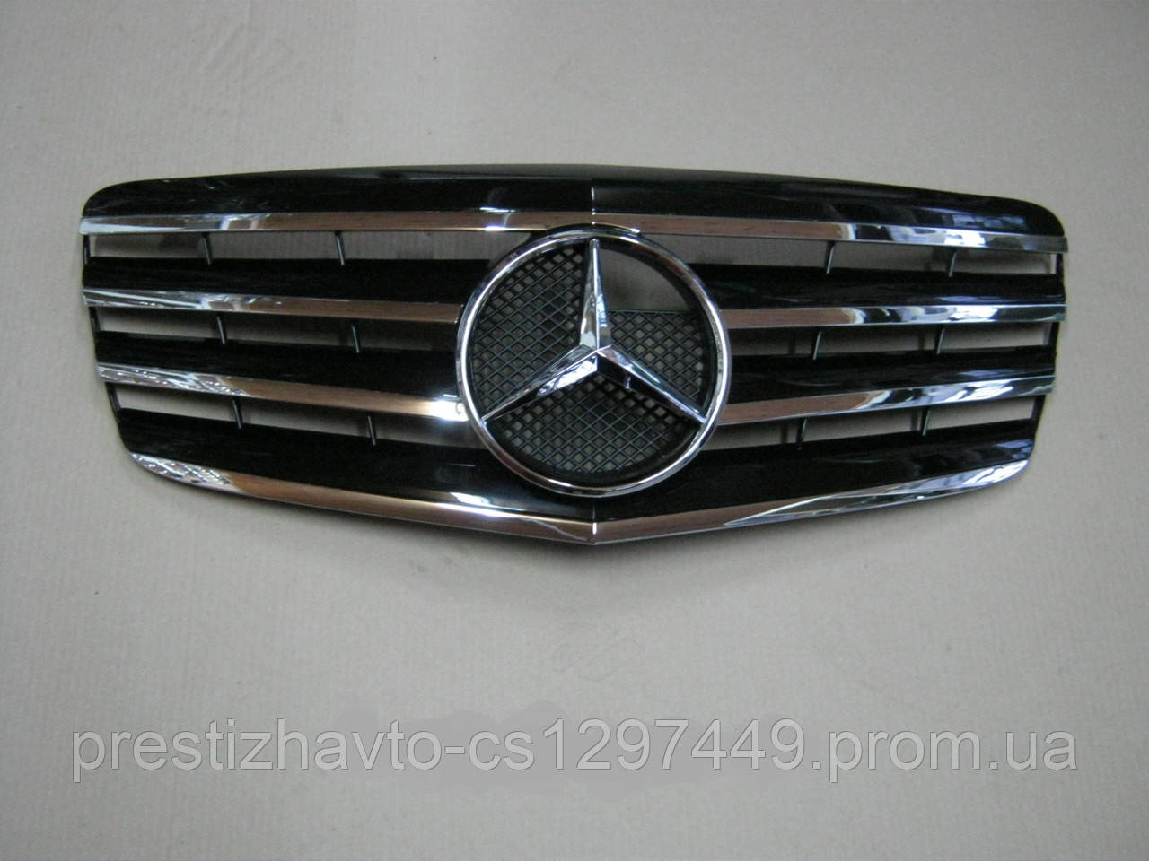 Решетка радиатора Mercedes E-Сlass W211 (2007-2009)
