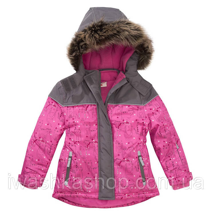 Зимовий термо куртка на дівчинку 2 - 3 роки, 98 р. Topolino