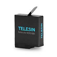 Аккумулятор Telesin для GoPro Hero 5/Hero 6/Hero 7 на 1220 mAh, фото 1