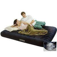 Двуспальный надувной матрас Intex