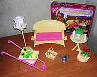 Кукольная мебель Глория Gloria 9926 Мебель для девочек в саду, фото 1