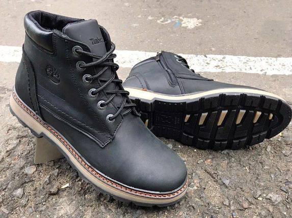 Мужские зимние ботинки Timberland натуральная кожа. В Украине!, фото 2