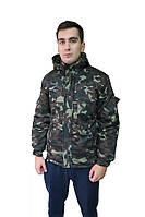 Куртка зимняя камуфляж Дубок