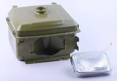 Бак топливный с фарой (1GZ90) - 195N