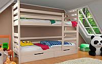 Двухъярусная кровать Амели 70х140см. ЛунаМебель