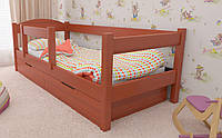 Деревянная детская кровать Мартель 70х140 см. ЛунаМебель