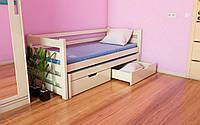 Деревянная детская кровать двухуровневая Соня-1 80х190 см. ЛунаМебель
