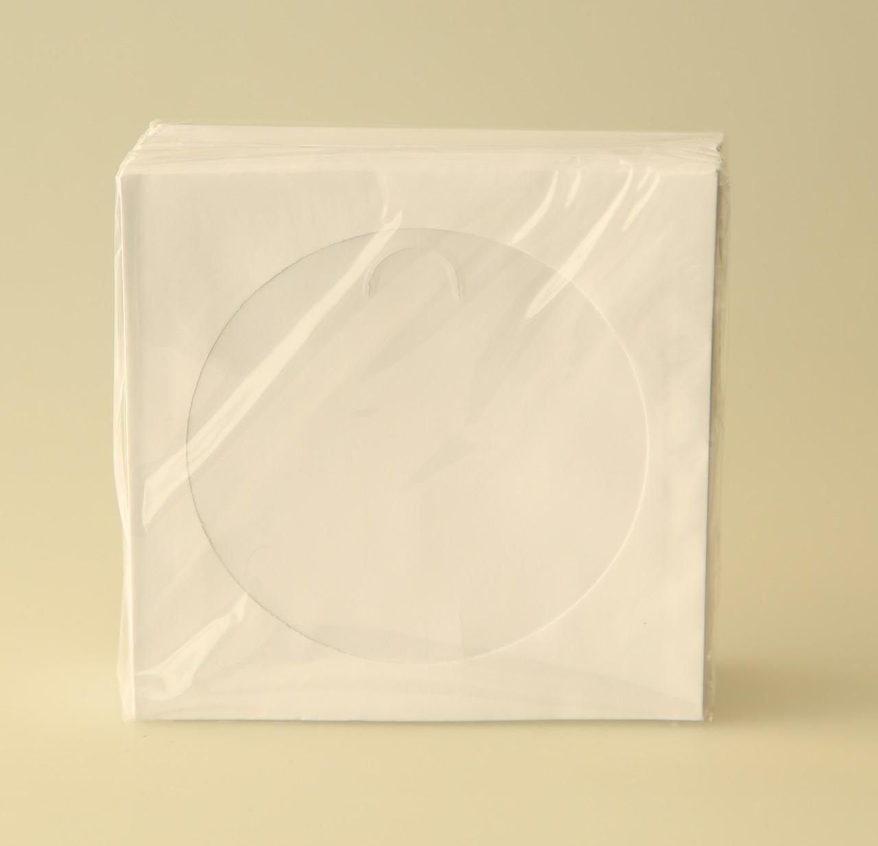 Конверт для компакт дисков с окошком