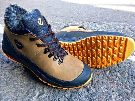 Мужские зимние ботинки ECCO Diom натуральная кожа, фото 2