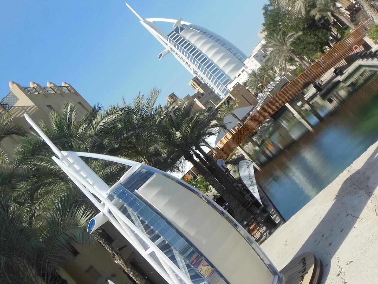 Светильник 3D LED Burj Al Arab.