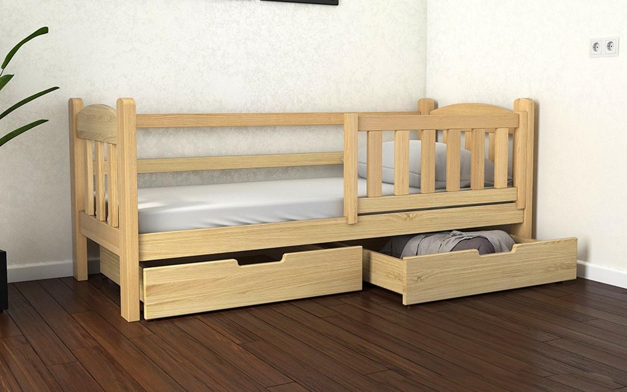 Деревянная детская кровать  Элли 70х140 см. ЛунаМебель