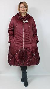 Женское длинное плащевое пальто больших размеров, Турция
