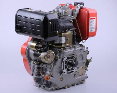 Двигатель 186FE - (под шлицы Ø25 mm) (9 л.с.) с электростартером, фото 2