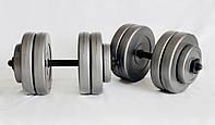 Гантели 2х13 кг Наборные WCG Grey, фото 1